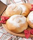 Spanish buns Ensaimadas Royalty Free Stock Image