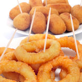 Spanish calamares a la romana Stock Photo