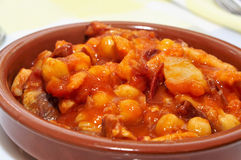 Spanish callos Royalty Free Stock Photography