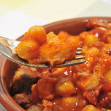 Spanish callos Stock Photography