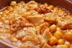 Spanish callos Royalty Free Stock Photos