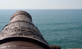 Free Spanish Cannon Royalty Free Stock Image - 14597986