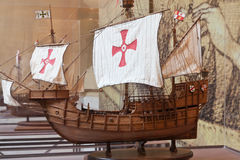 Spanish caravels Stock Photos