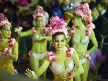 Spanish Carnival   in night Royalty Free Stock Photo