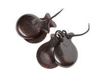 Spanish Castanets Royalty Free Stock Photos