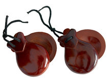 Spanish Castanets Stock Images