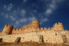 Spanish castle royalty free stock photo