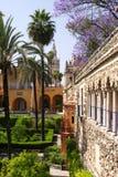 Spanish castle Royalty Free Stock Image
