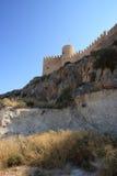 Spanish castle Castalla, Alicante. Stock Photography