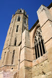 Spanish Cathedral. Picture of Lleida Cathedral, in Catalonia Royalty Free Stock Photos