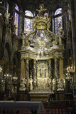 Spanish Cathedral Interior Stock Photos
