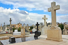 Spanish Cemetery Royalty Free Stock Photography