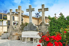 Spanish Cemetery Stock Photography