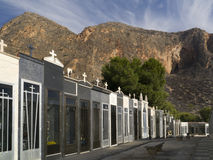 Spanish Cemetery - Costa Blanca - Spain Stock Images