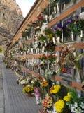 Spanish Cemetery - Costa Blanca - Spain Stock Photography