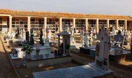 Spanish cemetery Stock Photo