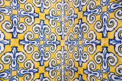 Spanish ceramic tile Stock Photography