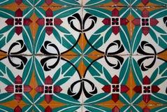 spanish ceramiczny styl tafluje rocznika zdjęcia stock