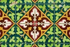 spanish ceramiczny styl tafluje rocznika zdjęcia royalty free