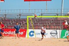 Spanish Championship of Beach Soccer , 2005 Stock Photography