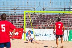 Spanish Championship of Beach Soccer , 2005 Stock Photos