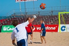 Spanish Championship of Beach Soccer , 2005 Royalty Free Stock Image