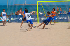 Spanish Championship of Beach Soccer , 2006 Royalty Free Stock Photos