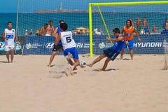 Spanish Championship of Beach Soccer , 2006 Royalty Free Stock Photos