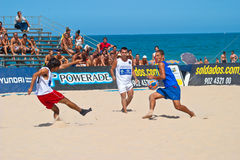 Spanish Championship of Beach Soccer , 2006 Stock Image