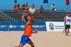Spanish Championship of Beach Soccer , 2006 Stock Photos