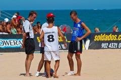Spanish Championship of Beach Soccer , 2006 Royalty Free Stock Image