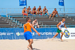 Spanish Championship of Beach Soccer , 2006 Royalty Free Stock Photo