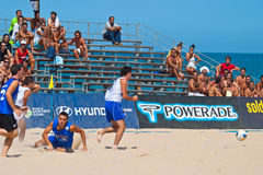 Spanish Championship of Beach Soccer , 2006 Royalty Free Stock Photography