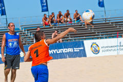 Spanish Championship of Beach Soccer , 2006 Stock Photo