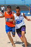 Spanish Championship of Beach Soccer , 2006 Stock Photography