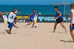 Spanish Championship of Beach Soccer , 2006 Royalty Free Stock Photo