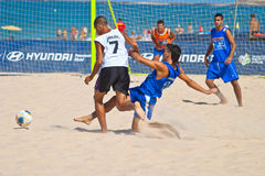 Spanish Championship of Beach Soccer , 2006 Royalty Free Stock Image