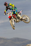 Spanish championship MX Royalty Free Stock Photos