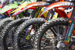 Spanish championship MX Royalty Free Stock Photography
