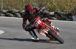 Spanish championship of supermotard Stock Photo