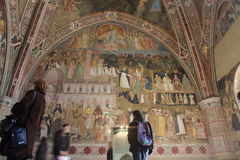 The spanish chapel in Florence Stock Photos