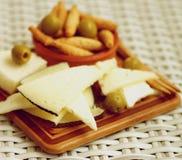 Spanish Cheeses Stock Photo