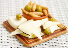 Spanish Cheeses Royalty Free Stock Photography
