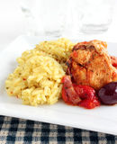 Spanish chicken Royalty Free Stock Images