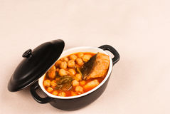 Spanish chickpea stew Royalty Free Stock Photos