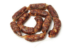 Spanish chorizo Royalty Free Stock Photography