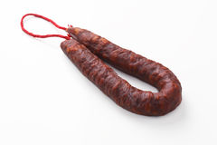 Spanish Chorizo Stock Photography