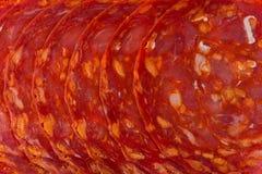Spanish Chorizo royalty free stock images