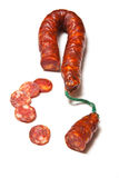 Spanish Chorizo sausages Stock Images
