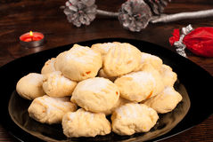 Spanish Christmas cookies Stock Photo